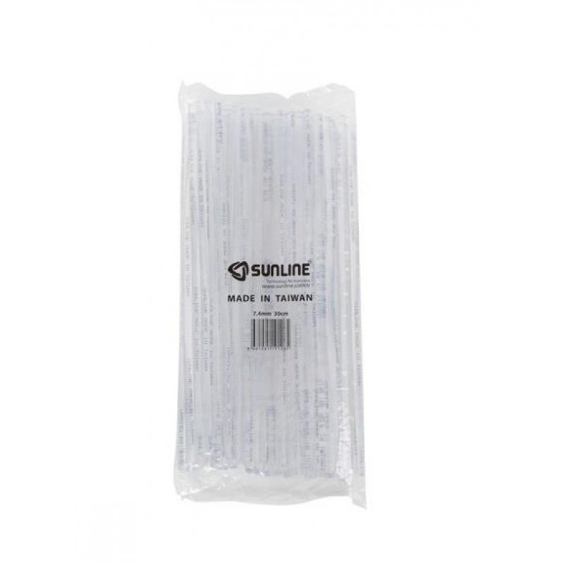 Sunline Silikon Mum İnce Beyaz 7,4mm 30cm 1 Paket