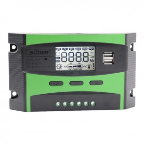 SUOER ST-C1220 12-24 VOLT 20 AMPER DİGİTAL OTOMATİK SOLAR ŞARJ REGÜLATÖRÜ  (2 USB GİRİŞLİ 5 V-2.1A)