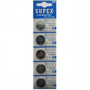 Supex SP-2025 Cr2025 3V Lityum Pil