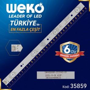 SW40D09R-ZC21AG-01 - 4S1P - 303SW400033 - R TYPE - 32 CM 4 LEDLİ - (WK-1321)