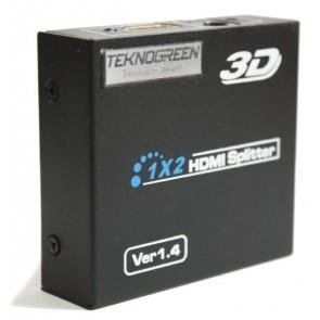 TeknoGreen 1x2 Port Hdmi 3D Splitter Çoğaltıcı
