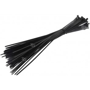 TeknoGreen 3.6X370Mm Kablo Bağı - 100Ad Siyah