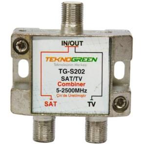 TeknoGreen 5 - 2500Mhz Tv & Sat Birleştirici