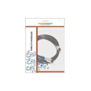TeknoGreen 5M Toslink Fiber Optik Kablo