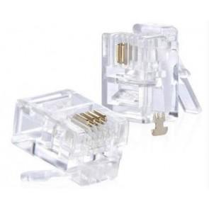 TeknoGreen 6P4C Konnektör ( 100Ad )