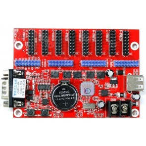 TeknoGreen 8Li Usb/Rs232 Led Kontrol Kartı