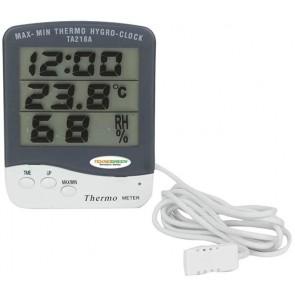 TeknoGreen Dijital Termometre Alarm, Saat ve Takvim