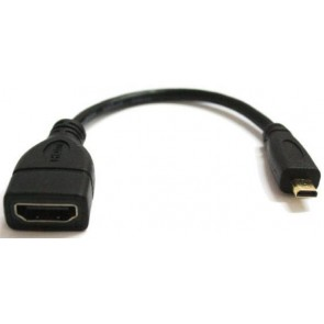 TeknoGreen Hdmi Dişi To Micro Hdmi Kısa Kablo