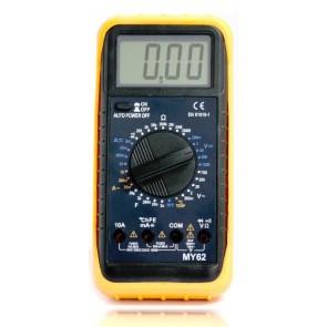 TeknoGreen MY-62 Multimetre Avometre Sıcaklık, DC,AC Akım, hFE, Dijita