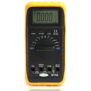 TeknoGreen My-68 Multimetre Avometre  Oto Kademeli 1000V 10A Dijital Ö
