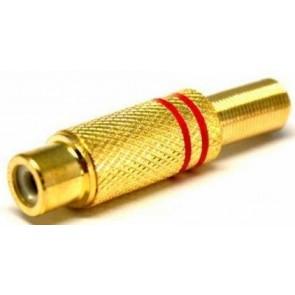 TeknoGreen Rca Gold Dişi Jack (10'lu Paket)