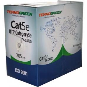 TeknoGreen 305 Metre Cat-5 Kablo