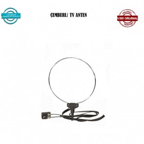 Televizyon Üstü Çemberli Tv Anteni (5 Li Paket )