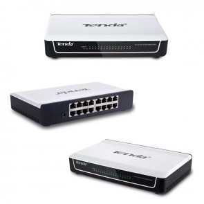 TENDA S16 10/100 MBPS 16 PORT SWITCH