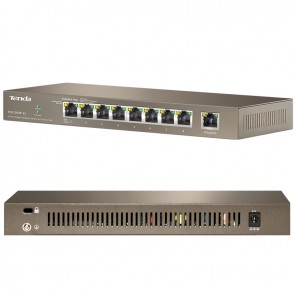 TENDA TEG1009P-EI 9 PORT 10/100/1000 8 PORT POE GIGABIT SWITCH