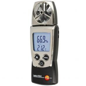 Testo 410-2 Anemometre (Hız+Sıcaklık+Nem)