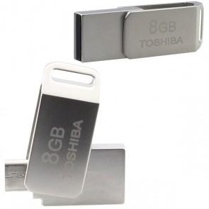 TOSHIBA 8 GB FLASH BELLEK MICRO USB OTG Lİ