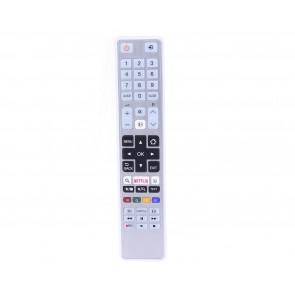 Toshiba CT-8054 Netflix Tuşlu Beyaz Lcd/Led Tv Kumandası