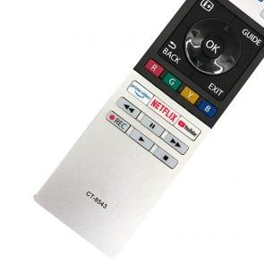 Toshiba CT-8543 Lcd-Led Netflix Youtube Prime Video Tuşlu Tv Kumandası