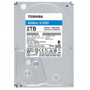 TOSHIBA V300 HDWU120UZSVA 3.5 5700 RPM SATA3 7/24 2 TB GÜVENLİK DİSKİ
