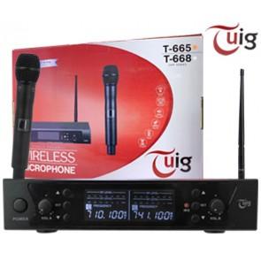 TUIG T-665 1 EL KABLOSUZ UHF TELSİZ MİKROFON