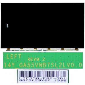 TV PANEL 55 052D55SS5 14_GA55VNB7SL2LV0.0 LSC550HF02-GO1 OPEN CELL