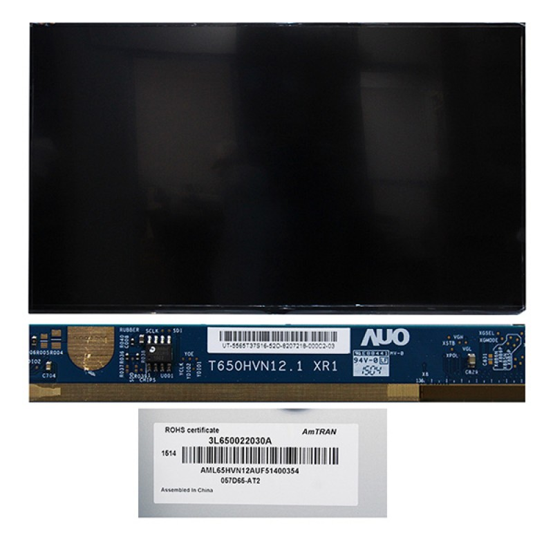 TV PANEL 65 BMS 057D65-AT2 3L650022030A (AUO) 100HZ T650HVN12.1 XR1