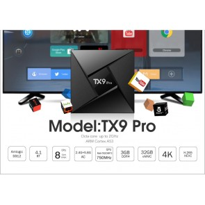 Tx9 Pro Androıd Tv Box Android 4K UHD 3D