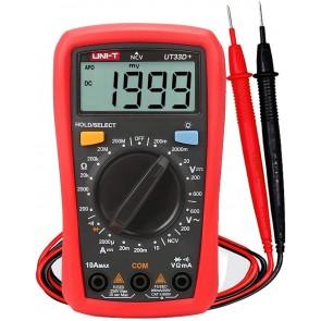 Unit UT33D+ 600V 10A Dijital Multimetre