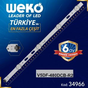 V5DF-480DCB-R2 - S_5J63_48_FL_R4_REV1.5_150108_LM41-00117L - RIGHT - 40.9 CM 4 LEDLİ (WK-784)