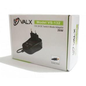 Valx 13V 2A Adaptör ( Santral Adaptörü ) 5.5x2.1mm
