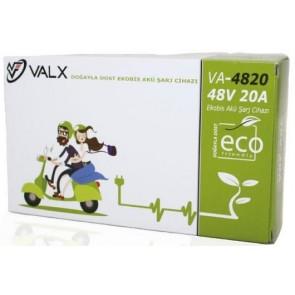 Valx 48V 20A Ekobis Akü Şarj Cihazı ( Süper Hızlı Şarj )