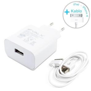 Valx 5V 2.1A Usb Adaptör + İphone 4 Kablo