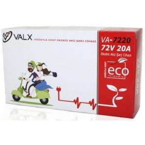 Valx 72V 20A Ekobis Akü Şarj Cihazı ( Süper Hızlı Şarj )