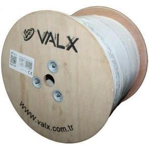 Valx Rg6 U4 64 Tel Coaxial 300M ( Ahşap Makara )