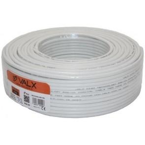 Valx Rg6 U4 Coaxial Kablo 100M ( Jelatinde )