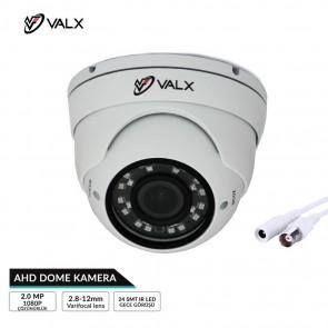 Valx VHC-2020 AHD Dome Kamera 2.0Mp Aptina Solution 2.8-12mm