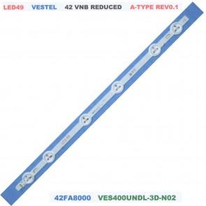 VESTEL 42 VNB REDUCED A Type Rev0.1 42FA8000 Tv Led Bar