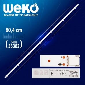 VESTEL 430DRT VNB B-TYPE REV06 - 80.4 CM 7 LEDLİ - (WK-426)