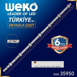 VESTEL 50 DRT UHD A-TYPE REV00 7 LEDLİ  45.4 CM