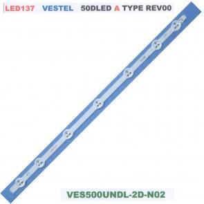 VESTEL 50DLED A Type Rev0.0 VES500UNDL-2D-N02 Tv Led Bar