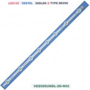 VESTEL 50DLED B Type Rev0.0 VES500UNDL-2D-N02 Tv Led Bar