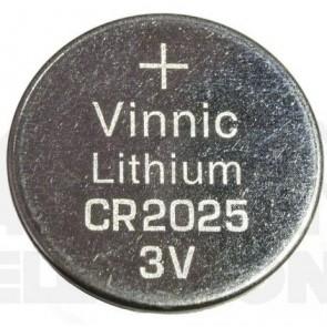 Vinnic CR2025 3V Lithium Pil