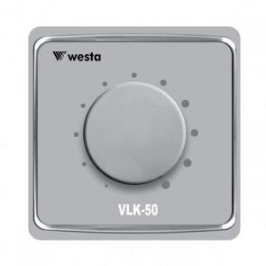 WESTA VLK-50 50 W-10 KADEMELİ-TRAFOLU 24 V RÖLELİ VOLÜM KONTROL ÜNİTESİ