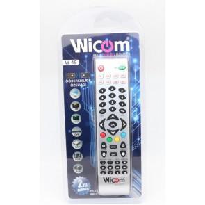 Wicom W45 v3 Öğrenebilen Akıllı Kumanda Kalıcı Hafıza