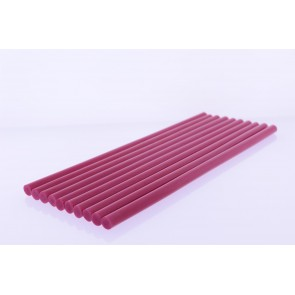 Winnboss Sıcak Silikon Mum Çubuk Kırmızı - Kalın 11x300mm 10*lu Paket