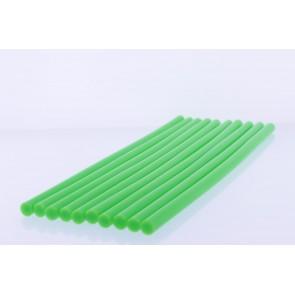 Winnboss Sıcak Silikon Mum Çubuk Yeşil - Kalın 11x300mm 10*lu Paket