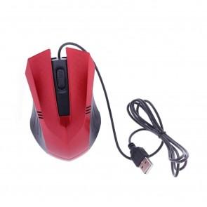 Winnboss WN-1047 Usb Kablolu Optik Mouse - Kırmızı