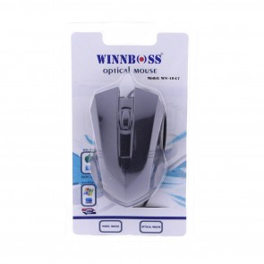 Winnboss WN-1047 Usb Kablolu Optik Mouse - Siyah