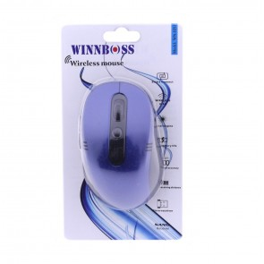 Winnboss WN-1057 Kablosuz Optik Mouse - Mavi
